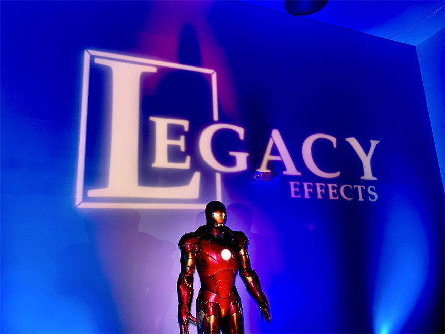 LA Event Lighting | Projection Display for Legacy Effects